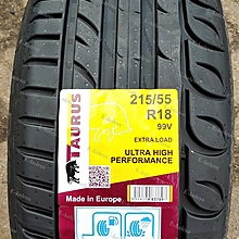 Taurus Ultra High Performance 215/55 R18 99V